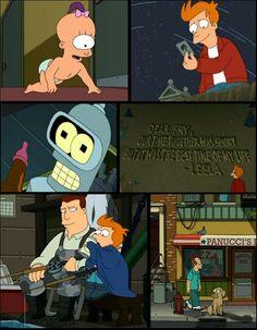 Sad moments of #Futurama