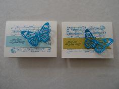 Karte SU Stampin up Schmetterling Stempelset Sale a Bration Hoch Hinaus Ziegel Hintergrundstempel Geburtstag Geburtstagskarte Männer Ozeanblau