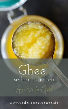 Ayurveda Ghee selber machen Ayurveda, Chutney, Geklärte Butter, Food, Ayurvedic Recipes, Food Food, Essen, Chutneys, Yemek