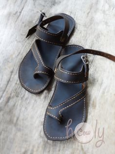 Handmade Sandals Leather Sandals. Mens Sandals por HolyCowproducts