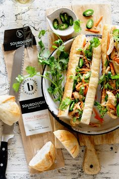 Banh Mi made better with little help from @LaBreaBakery Reserve Demi-baguette that is now widely available at select @krogerco stores. #ad