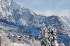 Les Orres Ski Resort in the Southern French Alps