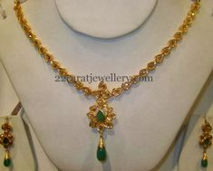 Simple 30gms Pachhi Necklace
