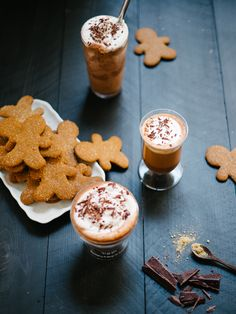 Day 8: Gingerbread Cocoa Three Ways Recipe + a Wolf Gourmet High-Performance Blender Giveaway! — Fix Feast Flair
