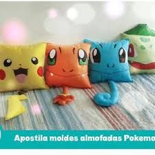 Resultado de imagem para molde almofada pokemon