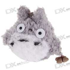 The cute totoro soft doll keychain toy is made of durable plush material, safe and soft. The keychain is lightweight for convenient to carry. The keychain can be elegant decoration to your handbag or cellphone. - Made of durable plush material, safe and soft http://j.mp/1vnWnCz