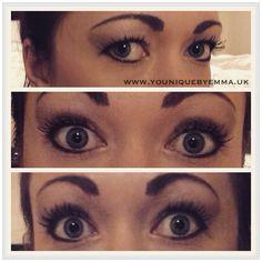 Younique Eye pigments and 3D Fiber lash mascara   www.youniquebyemma.uk