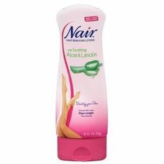 Nair Hair Remover Lotion With Soothing Aloe & Lanolin 9 oz