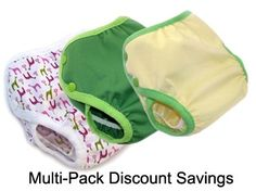 Multi-pack savings on diaper covers