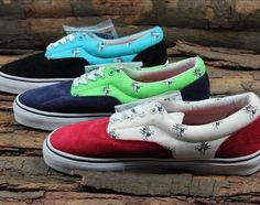 The Supreme Vans Era Flies Pack Features Flying Insects #shoes #footwear trendhunter.com