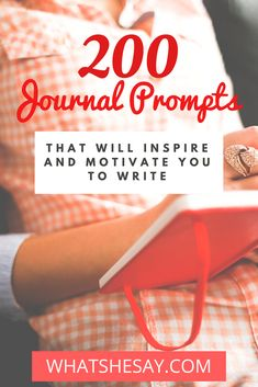 Journaling can sometimes be difficult even if youve journaled before and thats where journal prompts can provide a little help for your successful journaling. Use our extensive list of 200 journal prompts to help you become mo Journal Writing Prompts, Writing A Book, Writing Tips, Writing Genres, Writing Resources, Journal Questions, Gratitude, Morning Pages, Journal Inspiration
