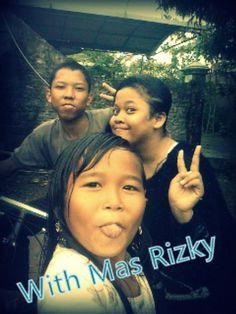With Mas Rizky