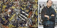 Late-Modernism: the work of famous 19th century abstract artist Jackson Pollock is often examined for its take on late-modernism, where Pollock would methodically, and deliberately, (albeit randomly) drizzle paint across the canvas. Many see Pollock's work as laying foundation, and letting the viewer or audience determine the meaning or function of the painting