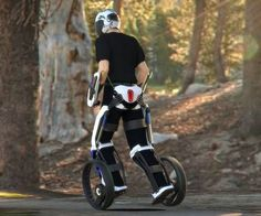 Radical rethinking of the Personal Mobility Vehicle (Yeah, you better pad that bum).