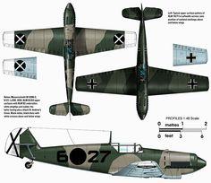 Messerschmitt Bf 109B2 I.J88 6x27 Spain 1938 0A