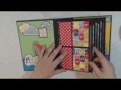 Echo Park Playground Mini Album - YouTube