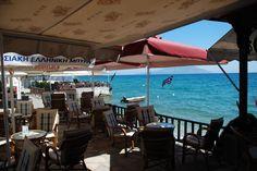 Plori Bar Samos, Bar, Greece, Patio, Outdoor Decor, Home Decor, Homemade Home Decor, Yard, Terrace