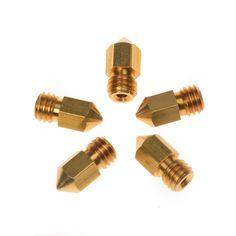 J-head 3d 0.3mm 0.4mm 0.5mm Extruder Printer Head Copper Nozzle for 3.00mm 3d Pinter Filaments