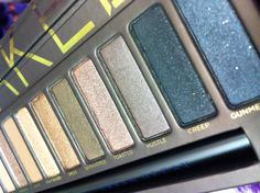 The Naked Palette  Urban decay