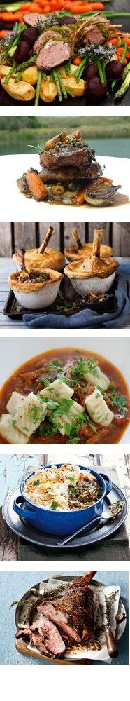 16 WAYS WITH LAMB. There are some great recipes here