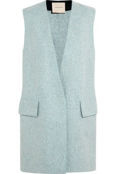 Roksanda Ilincic Cambray wool-felt vest | NET-A-PORTER