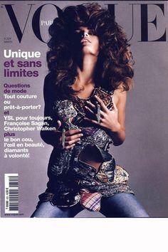 Vogue Paris Mars 2002: Isabeli Fontana