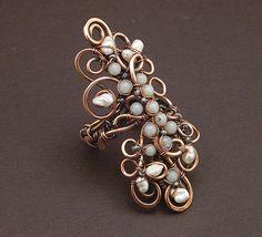Floral Ring by MaryTucker, via Flickr