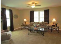 Brockton Cape Cod Oneonta G & I Homes living room