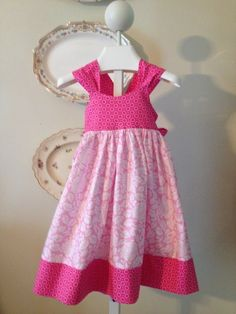 Ella Dress for Girls 12M-8Y PDF Pattern & Instructions | YouCanMakeThis.com