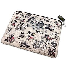 Reversible Classic Mickey Mouse Laptop Sleeve $26.95