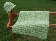 Done in a Jiffy Baby Blanket pattern by Marie Anne St. Jean