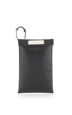 Shop Black Wristlet Clutch by No. 21 for Preorder on Moda Operandi