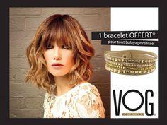 du 1er au 30 Juin, un  bracelet OFFERT pour tout balayage réalisé dans votre salon VOG coiffure Chambéry.