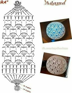 Crochet Christmas Ornaments, Christmas Crochet Patterns, Holiday Crochet, Crochet Snowflakes, Crochet Doily Patterns, Crochet Mandala, Crochet Diagram, Crochet Squares, Crochet Motif