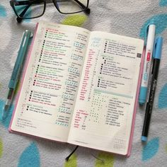 Planning in my Hobonichi Week