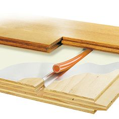 Warmboard-S is and structural subfloor and radiant heating panel in one. Ideal for new construction, Warmboard-S can install directly over joist or slab. Hydronic Radiant Floor Heating, Hydronic Heating, Underfloor Heating, Tyni House, Solar Flood Lights, Energy Efficient Homes, Energy Efficiency, Solar Water Heater, Home Fix