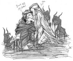 Im not the only one who ships Alina and the Darkling! :0
