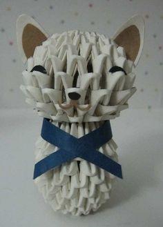 3D Origami - Cute Cat