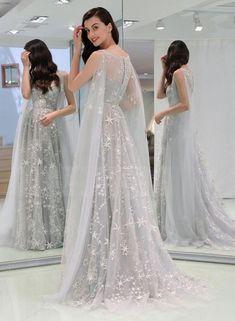 Grey Evening Dresses, Elegant Dresses For Women, Prom Dresses Long With Sleeves, Sexy Dresses, Evening Gowns, Fashion Dresses, Formal Dresses, Wedding Dresses, Summer Dresses