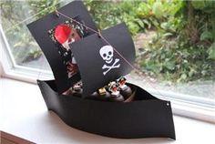 Piraatjes in een boot