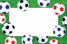 Soccer Red Borders Related Keywords Suggestions Soccer Red
