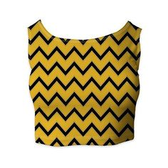 Harry Potter Inspired House Chevrons Ladies Crop Top: Amazon.co.uk:... ($27) ❤ liked on Polyvore featuring tops, crop top, chevron print tops, chevron tops and cut-out crop tops