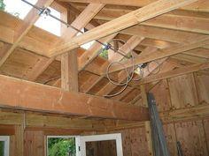 1000 images about garage shop ideas on pinterest for Clerestory roof truss design