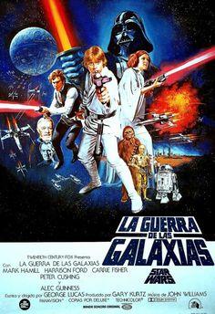 Afiche de Star Wars en Perú