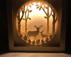 Shadow box Shadow box art Shadow box light Wooden night light Light Box Shadowbox Wooden Night Lamp Dioramas Our product is the unique night lamp that is made with love and care for the most important people in your life. This lamp works on the s Box Light, Light Art, Marquee Letters, Light Letters, Shadow Box Baby, Shadow Box Kunst, Licht Box, Baby Night Light, Shadow Box