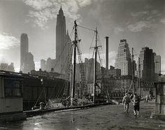 Great view/angel. Changing New York: Berenice Abbott's Stunning Black-and-White Photos from the 1930s | Brain Pickings