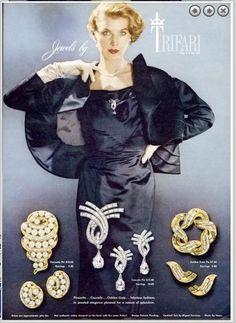 1953 Trifari ad