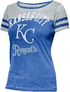 G-III Touch By Alyssa Milano Women's Kansas City Royals Morgan Short-Sleeve T-Shirt