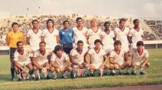 Juventus na Africa, em 1987
