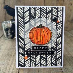FoucheCreations: Simple Halloween Card